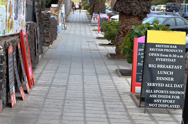 Brit bars, Tenerife