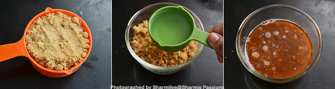How to make Eggless Carrot Muffins Recipe - Step1