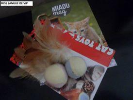 jouet Balles à plumes - CAMON