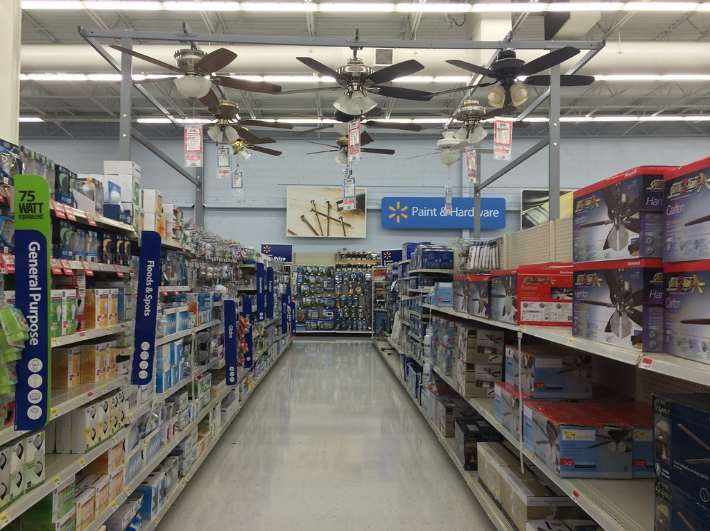 Wal Mart Ceiling Fan Display Mike Kalasnik Flickr