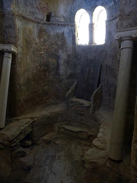 une chapelle de l'élglise de Drosiani