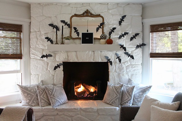 Haloween Mantel
