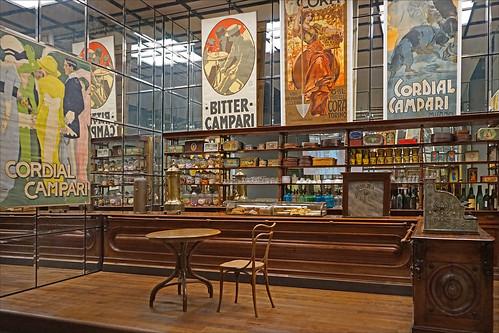 Café milanais 1900 (Arts & Foods, Triennale de Milan)