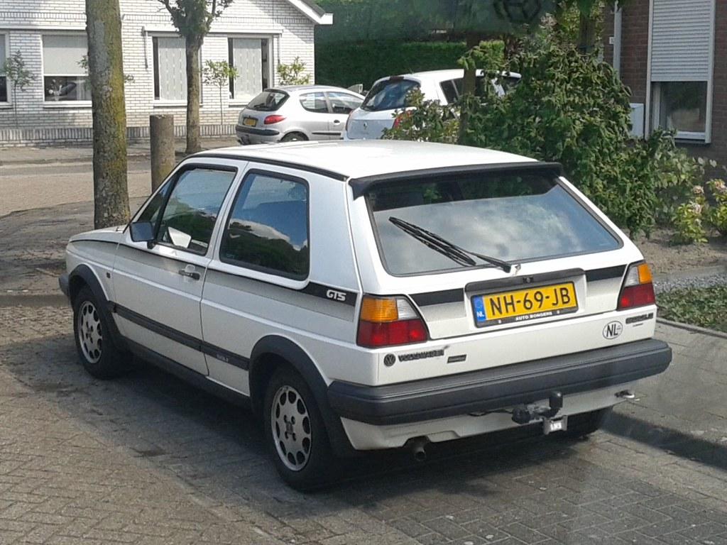 Volkswagen Golf Ii C Gts 24 05 1985 Nh 69 Jb Eerste Eige