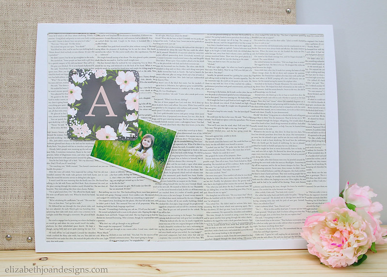 Book Page Covered Bulletin Board Domestically Speaking