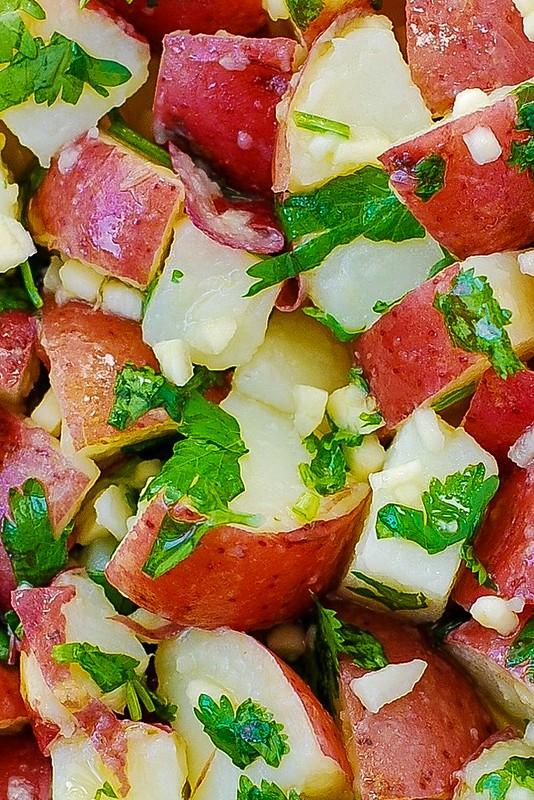 easy potato salad, Thanksgiving salad, Thanksgiving recipes