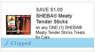 Free Sheba Meaty Tender Sticks