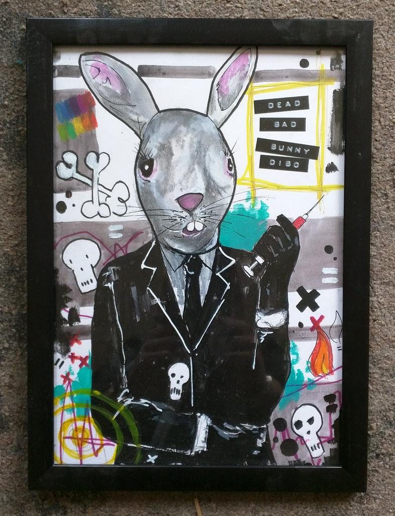 Dead Bad Dibo Bunny
