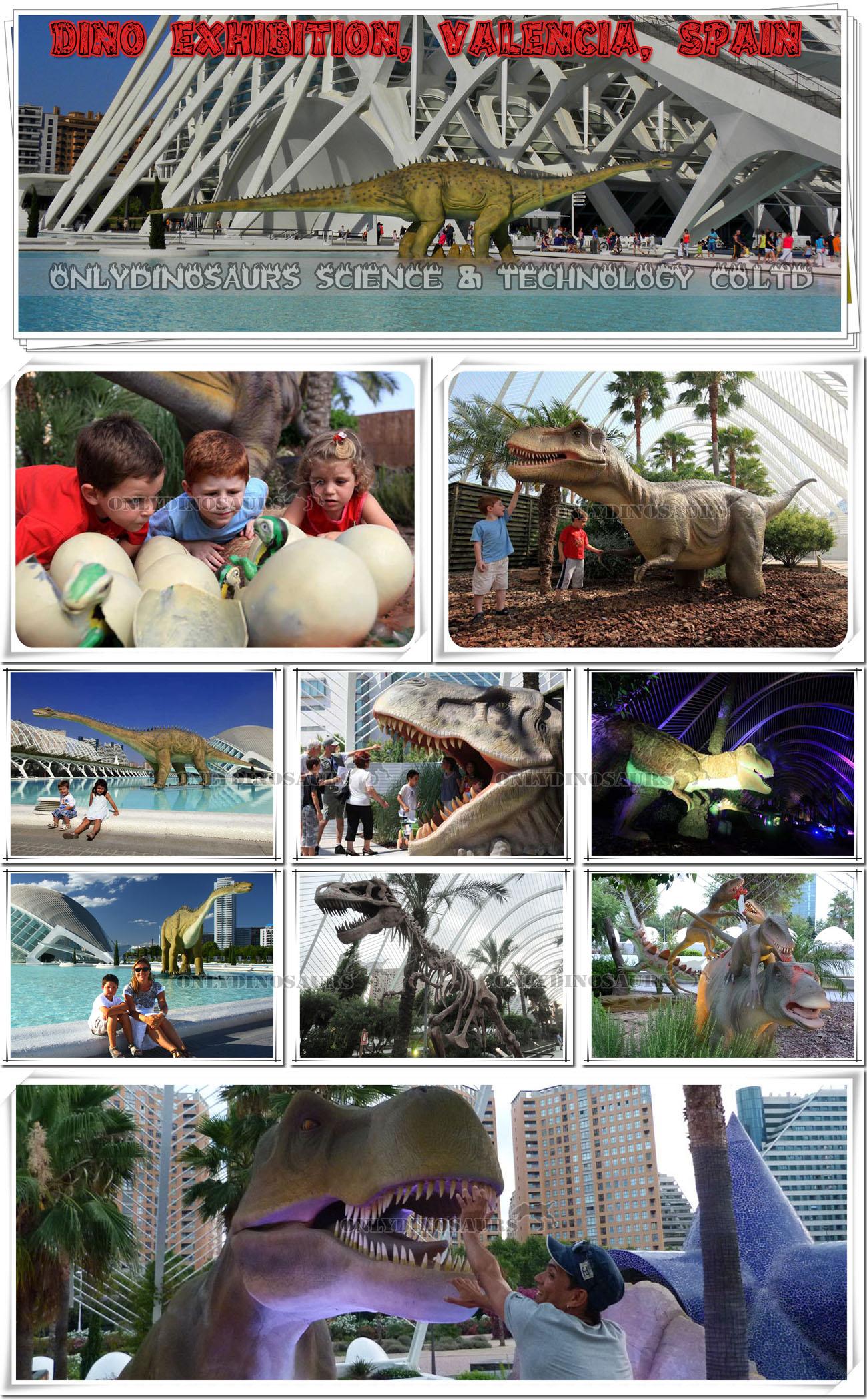 Dinosaur Exhibition in Spain