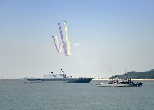 USS Patriot Joins ROK Navy in Reenactment of 65th Anniversary of Incheon Landing