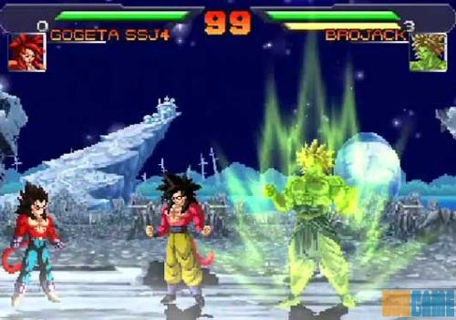 DragonBallZ AF Mugen pelea