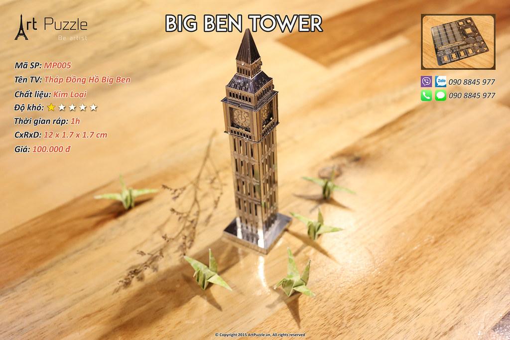 Art Puzzle - Chuyên mô hình kim loại (kiến trúc, tàu, xe tăng...) tinh tế và sắc sảo - 22