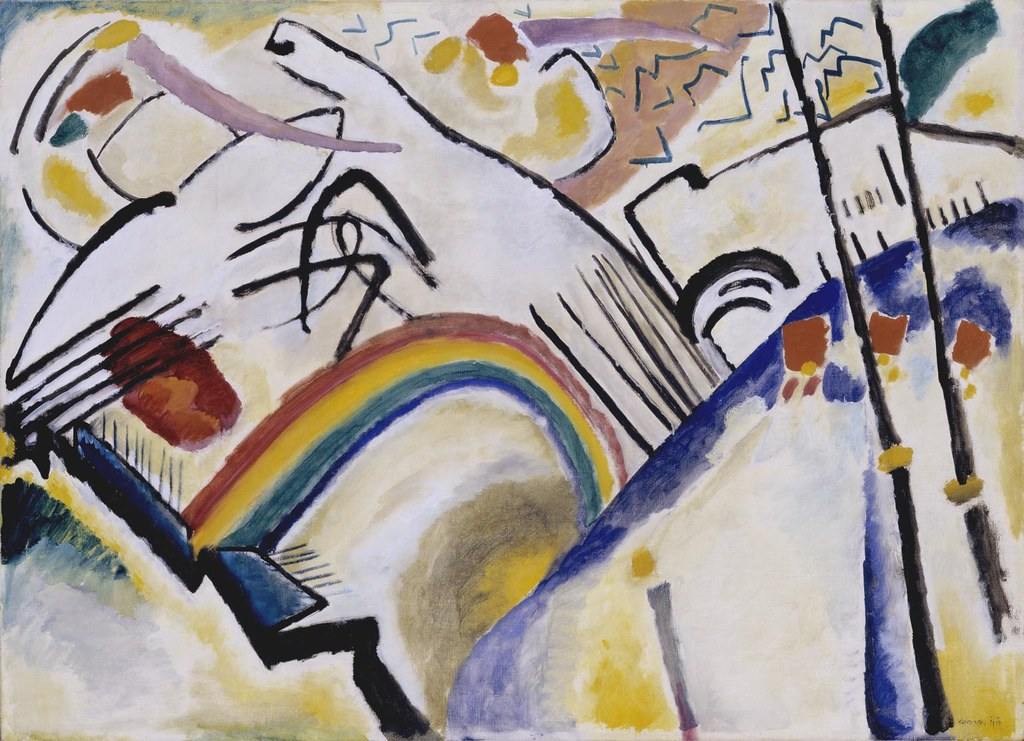 Wassily Kandinsky Cossacks or Cosaques 1910–1