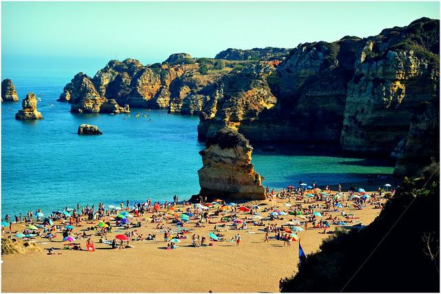 Algarve, Portugal 2015 - Praia de Dona Ana
