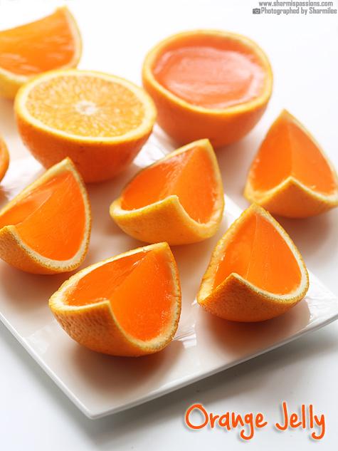 Orange Jelly Recipe