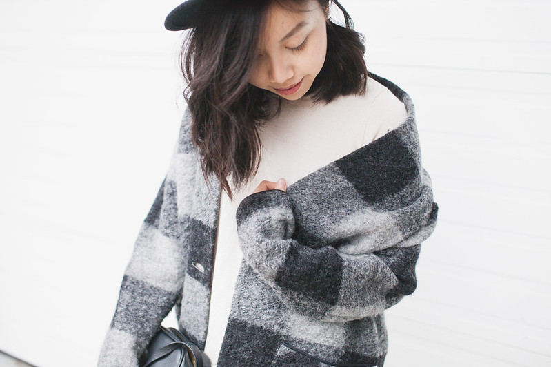 wool hat long bob