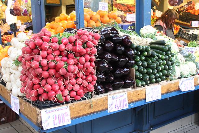 Fruit market Budapest