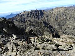 Sommet de la pointe 2456 : les sommets au-dessus du Capitellu