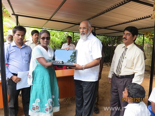 Distribution of Laptops, bicycles and sewing machines