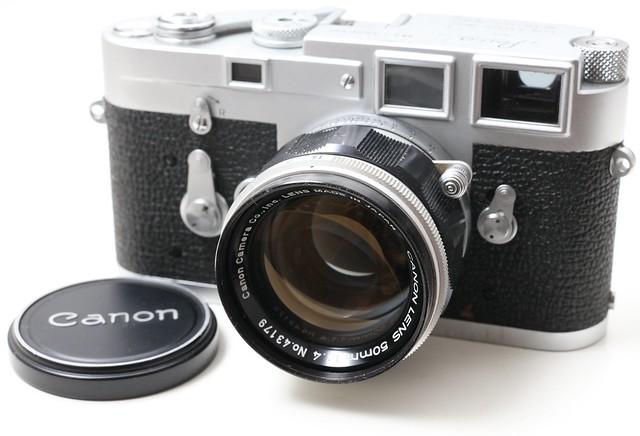 Canon 50/1.4 LTM(L39)  57年日系旁軸大光圈與61年的Leica M 50/1.4 兩分天下