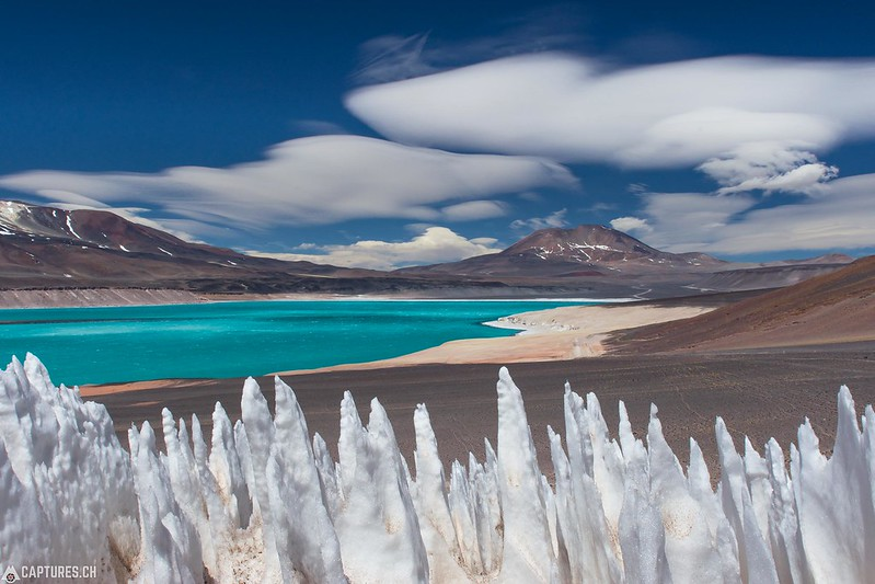 Penitentes and the Laguna Verde - Paso San Francisco