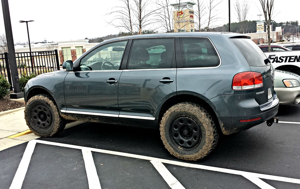 Volkswagen Touareg It S Amazing How Some Off Road Wheels
