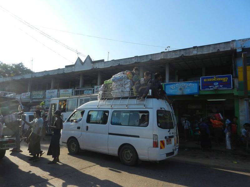 Вокзал в Мандалае