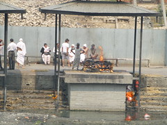 Feuerbestattung in Bhaktapur