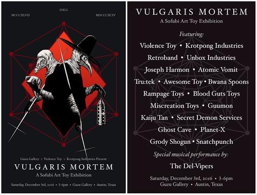 Vulgaris Mortem Flyer