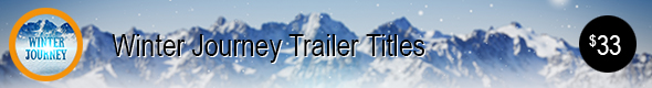 Winter Journey Trailer Titles