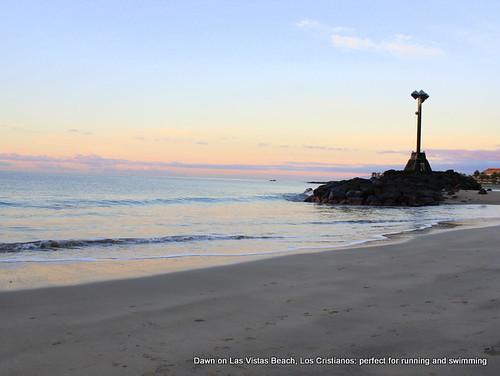 Dawn on Las Vistas beach