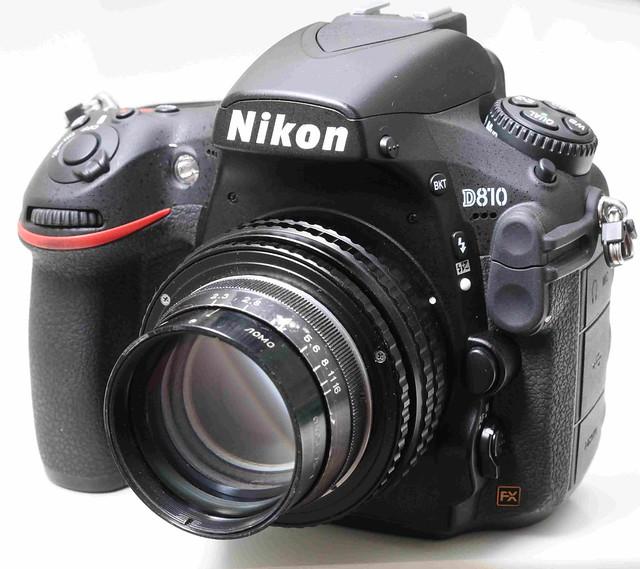 二手鏡頭 香港 . . . LOMO OKC6-75-1 75mm F2.0   蘇聯電影鏡皇  (35mm大電影鏡改Nikon)   足以媲美貴價西歐全片幅電影鏡