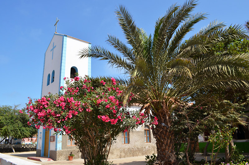 Church, Santa Maria, Sal, Cape Verde