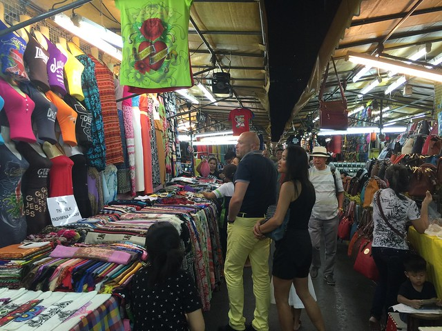 Puestos de Patpong Night Market (Bangkok)