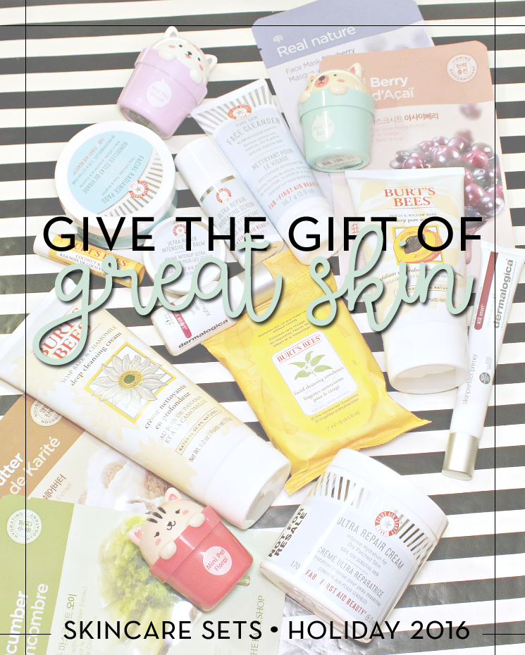 give the gift of great skin holiday sets 2016
