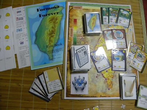 桌遊《Formosa Forever》經濟和環保之間,是衝突、妥協、還是合作?我們該怎樣選擇?