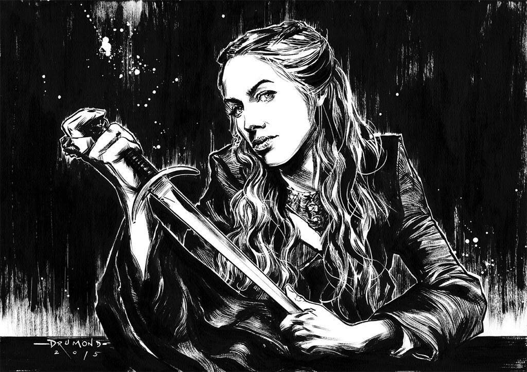 Game of Thrones by Drumond Art - Cersei Lannister