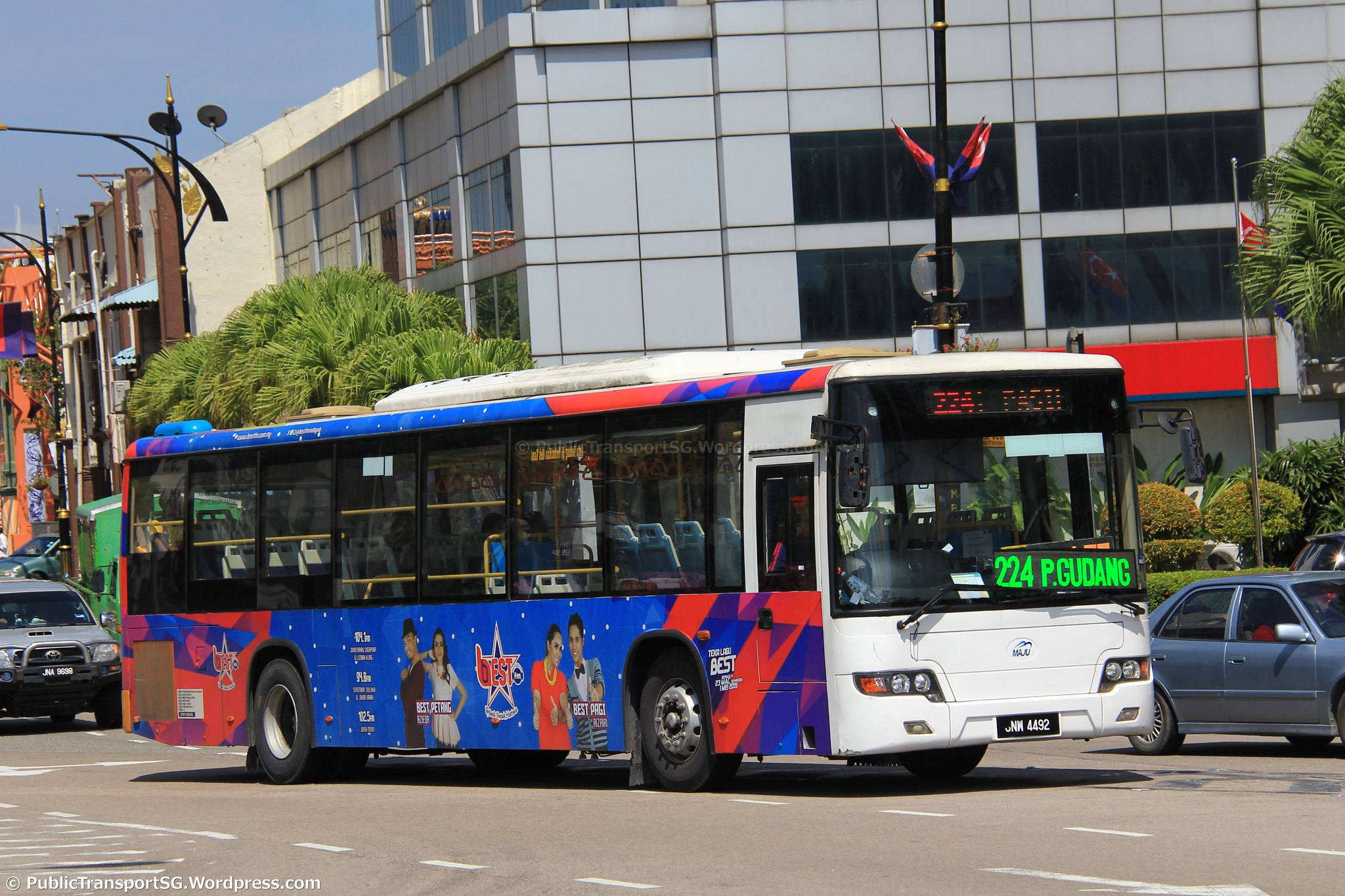 maju bus service 224 | land transport guru