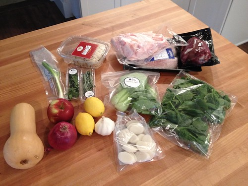 blue apron meal ingredient