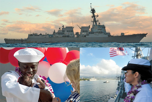 USS Chafee returns home from deployment
