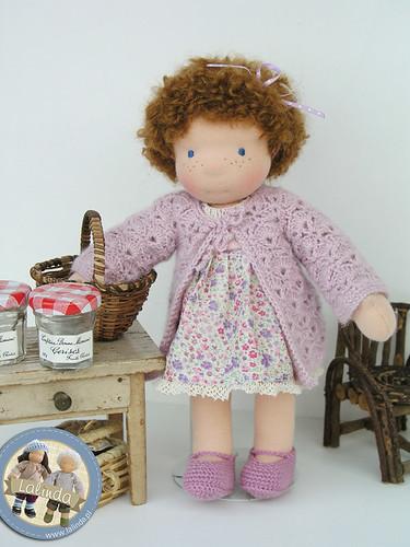 Kristin - 11 inch waldorf doll