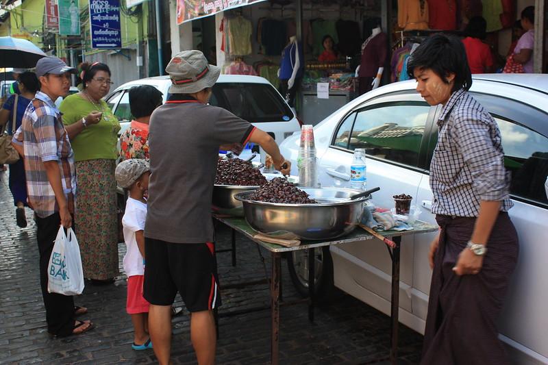 Продукты в Мьянме