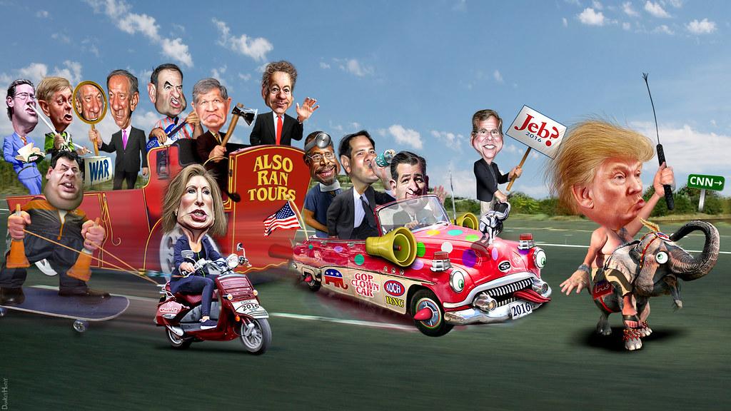 the republican clown car parade returns to cnn