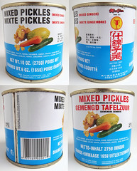 Blikje Mixed Pickles