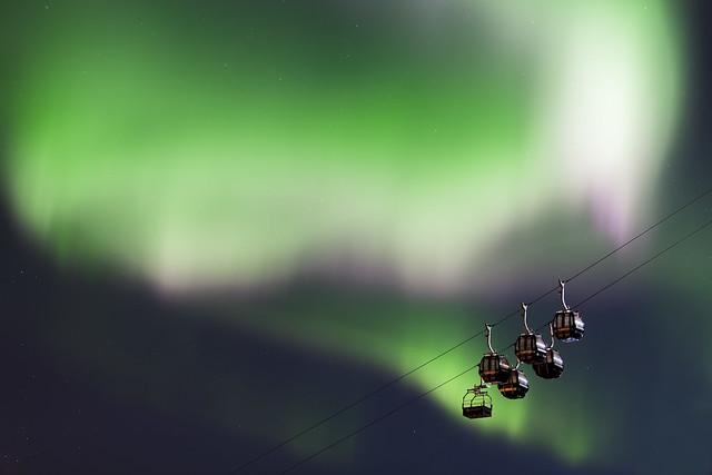 Gondol in Narvikfjellet
