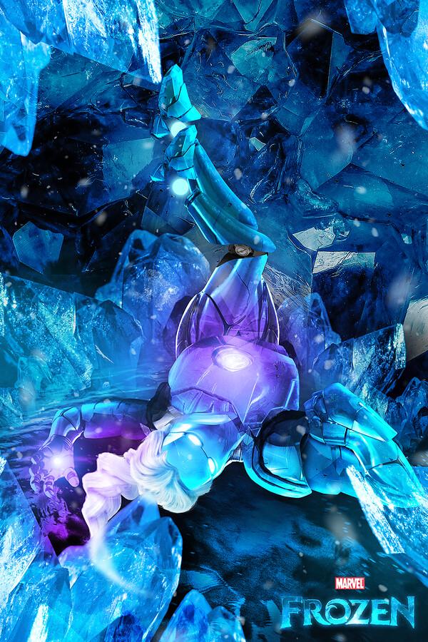 Iron MaSH! by Kode Logic - Iron Man / Frozen Elsa