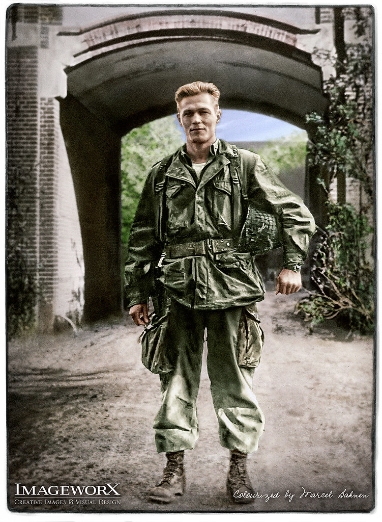 maj dick winters impression