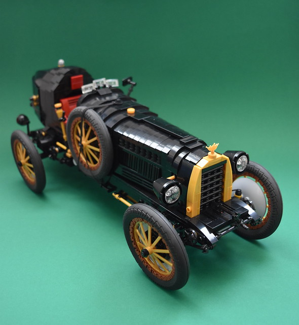 Glorious vintage racing car in LEGO bricks | The Brothers ...