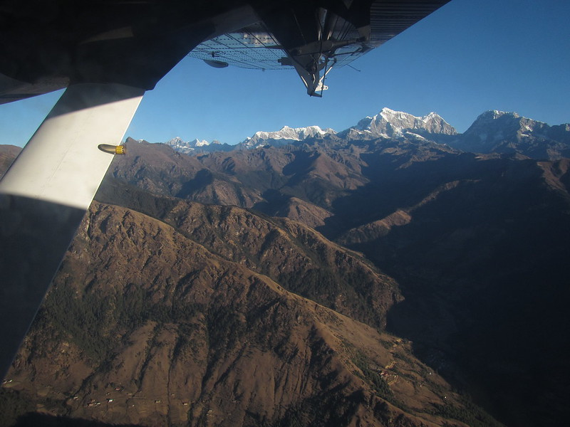 Cruising Over the Himalaya