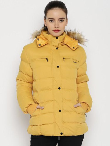 Jacket styles for women - Quilted Long jacket
